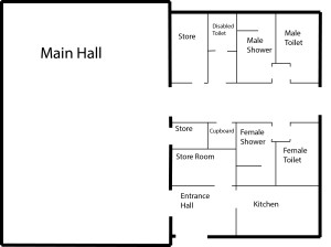 Scout Hall Plan