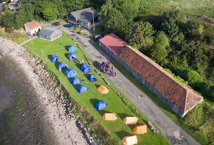 Group Camp at the Limekilns Scout Hall September 2016